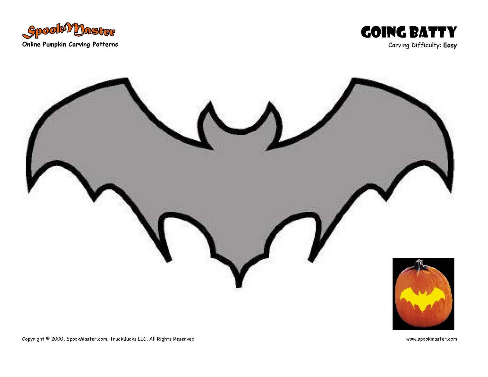 Bat stencil cliparts