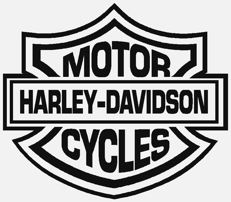 Harley Outline Logo - Cliparts.co
