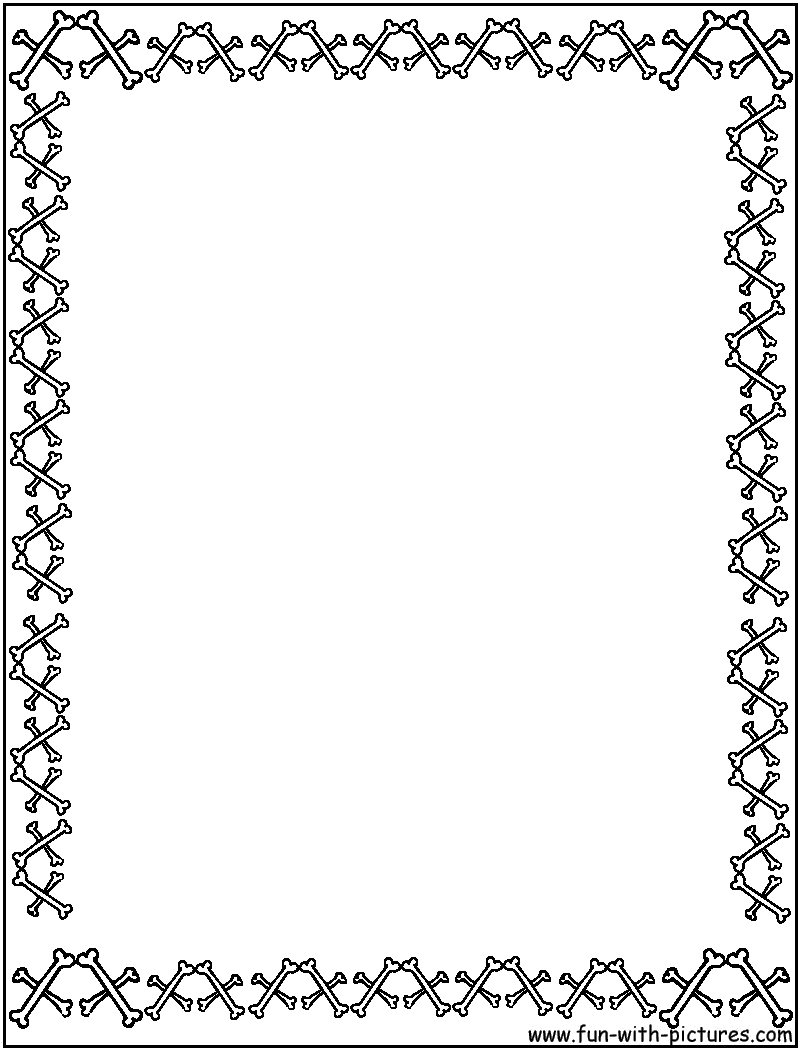 page border coloring pages - photo#10