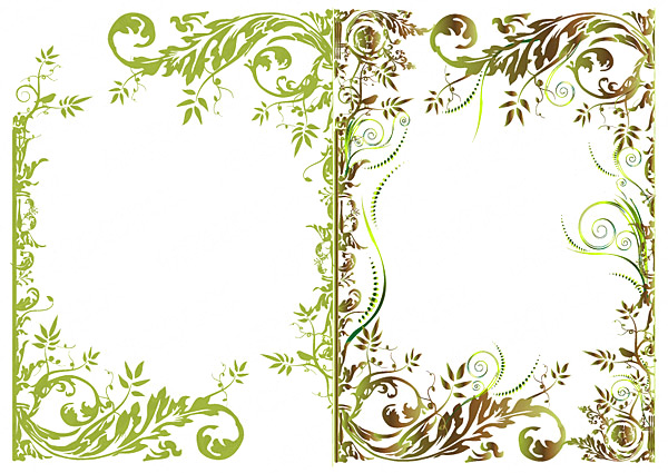 Flower Border Template - Cliparts.co