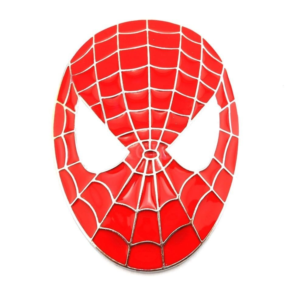 Spiderman face logo - photo#28