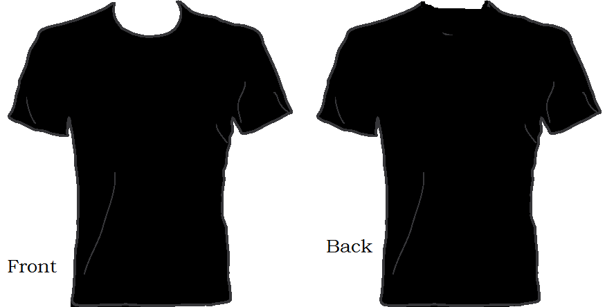 T Shirt Template Cliparts Co
