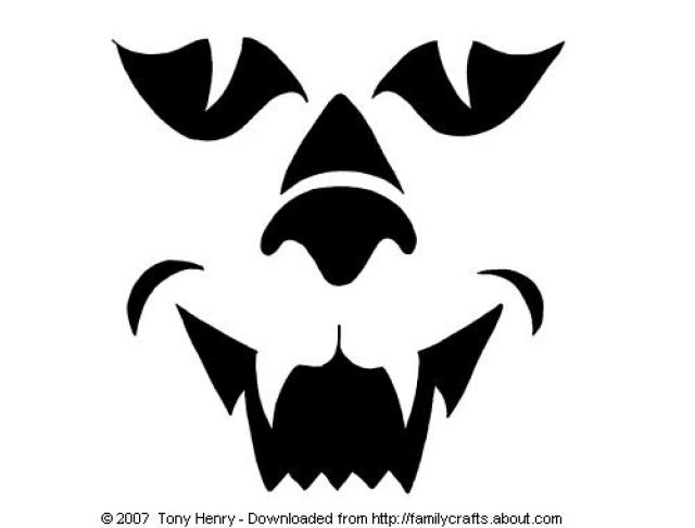 Cat face template Cat pumpkin carving patterns