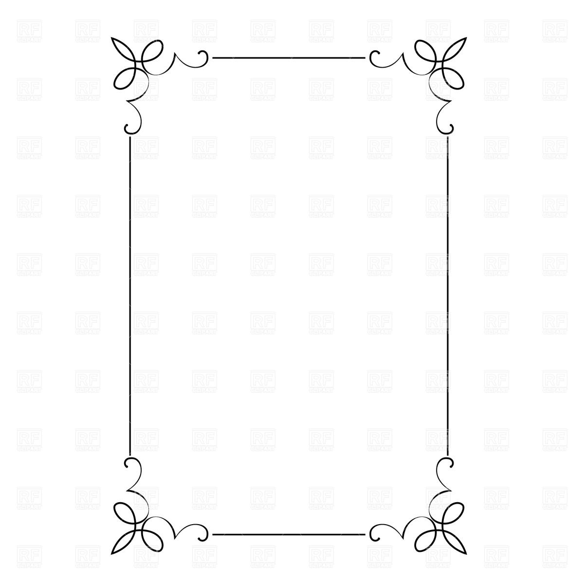 Line Art Frames : Clip art borders and frames free download cliparts