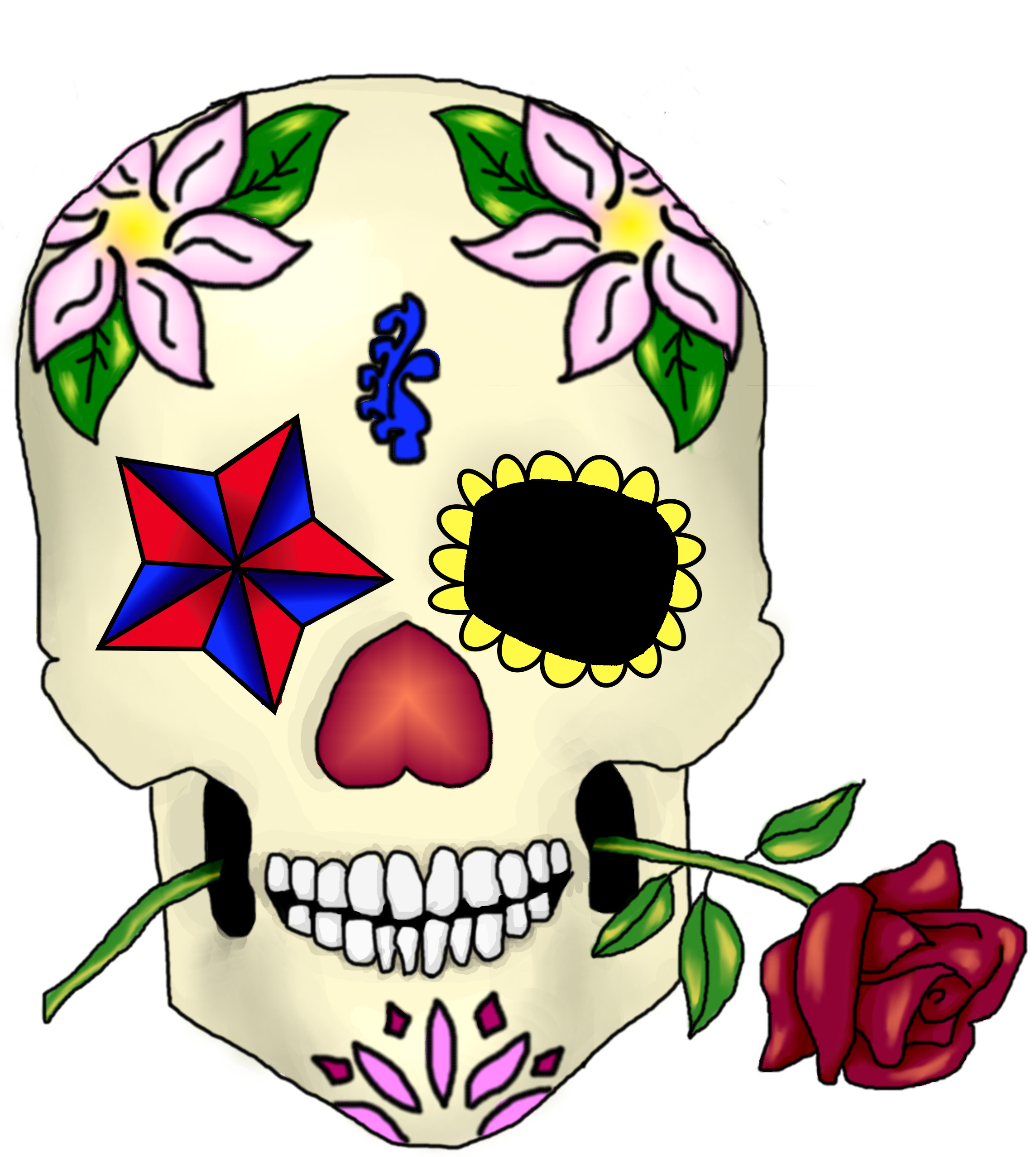 Sugar Skull Clip Art - Cliparts.co