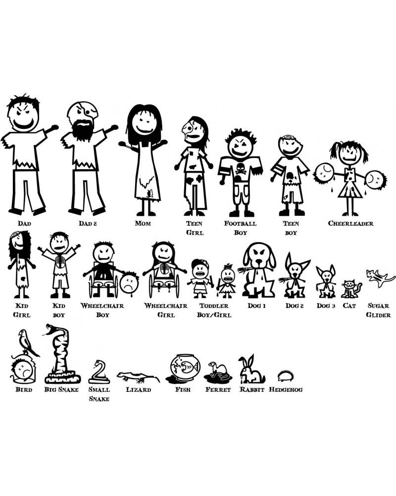 Stick Figure Family - Cliparts.co