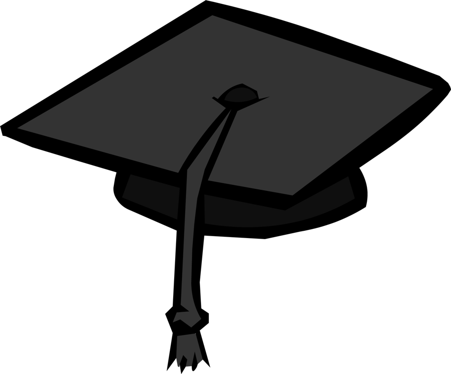 Image - BlackGraduationCap.png - Club Penguin Wiki - The free ...