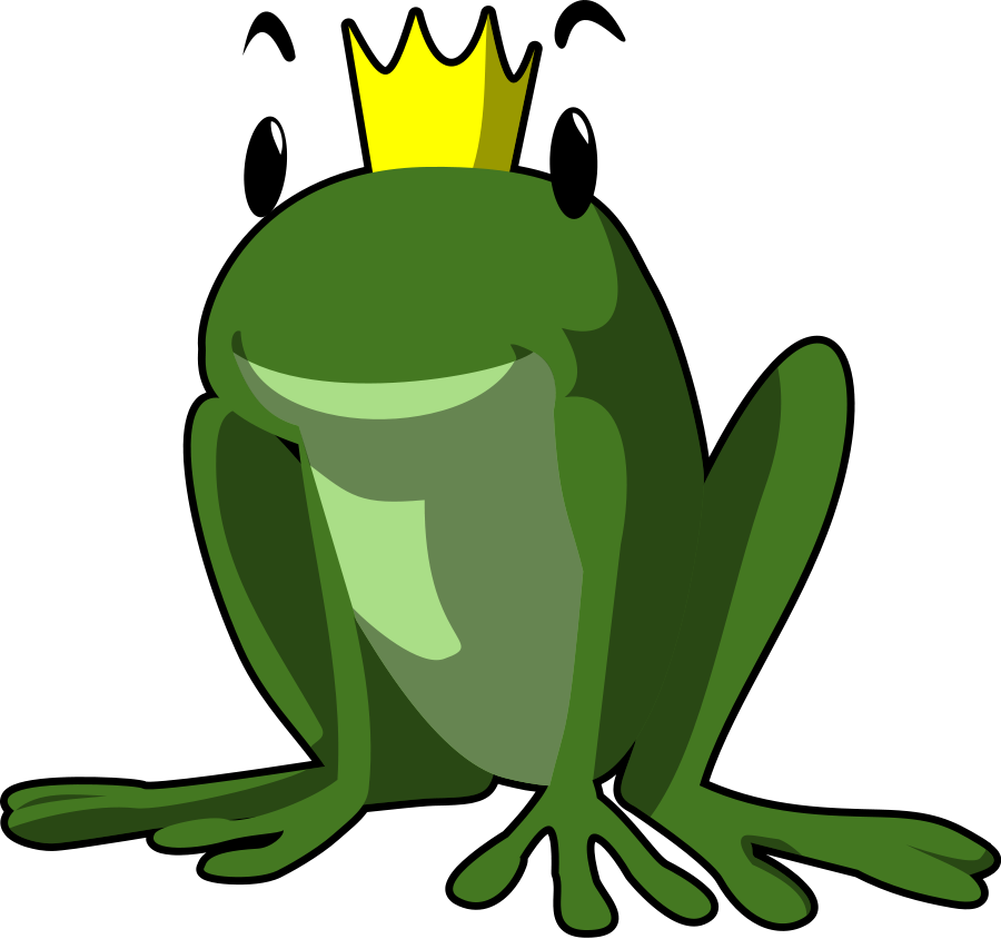 Frog on a lily pad Clipart, vector clip art online, royalty free ...