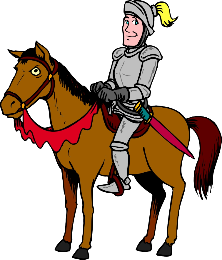 cartoon horse clip art cliparts co knight clip art black and white knight clipart images