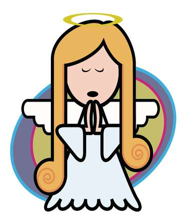 Praying Angel Clip Art - Cliparts.co