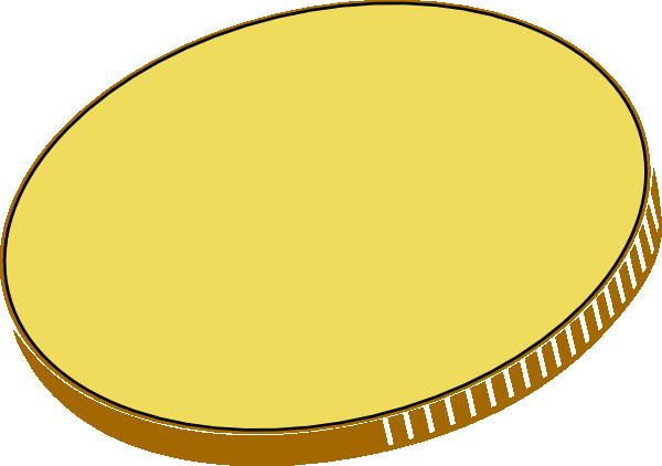 Totetude Gold Coin clip art - vector clip art online, royalty free ...