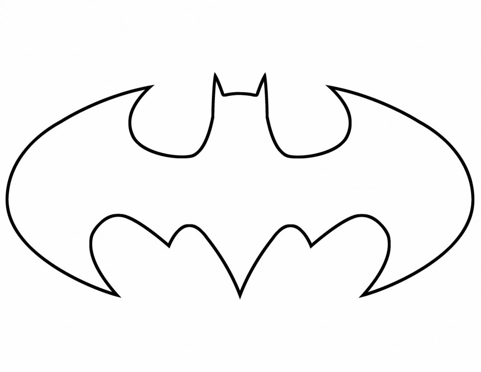 Free Printable Batman Logo