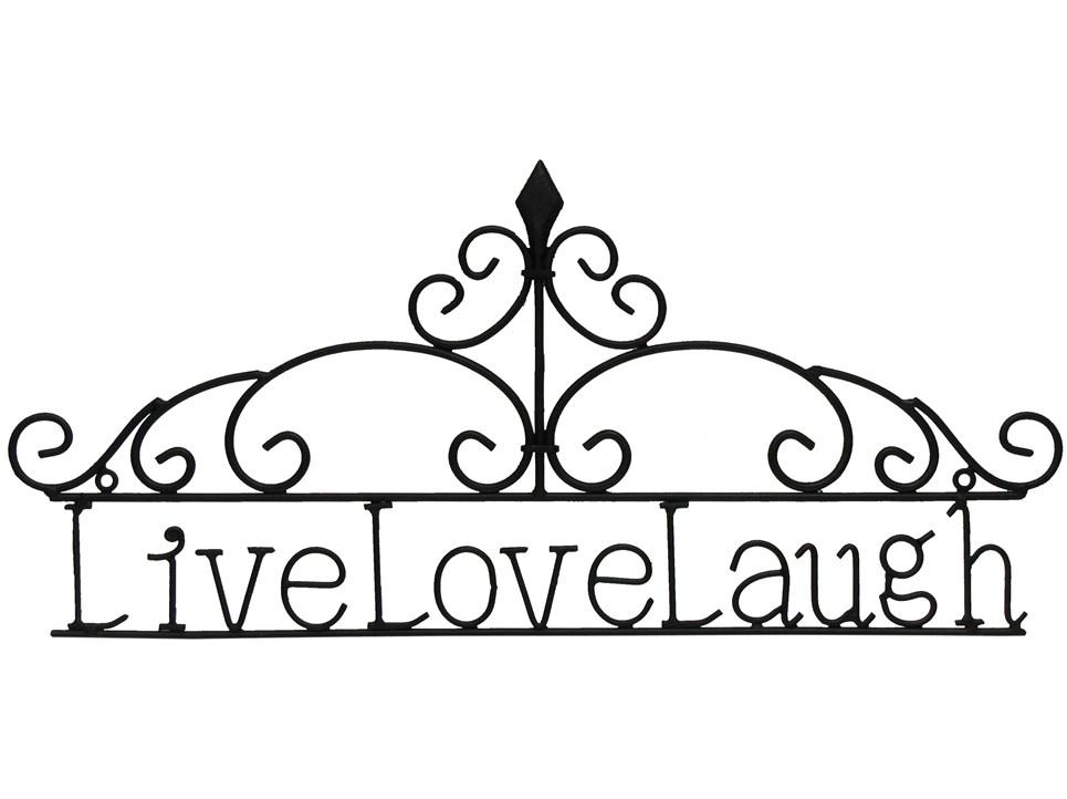Hobby Lobby Tree Of Life Wall Decor : Mahogany live love laugh metal wall decor hobby
