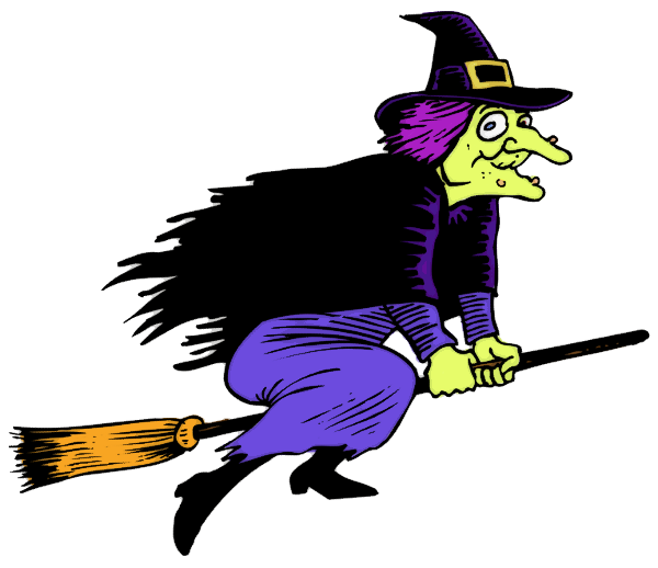Pictures Of Halloween Witches - Cliparts.co