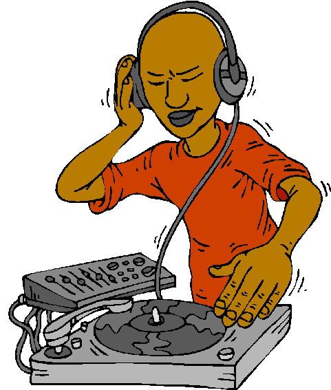 disc jockey clipart clipartsco