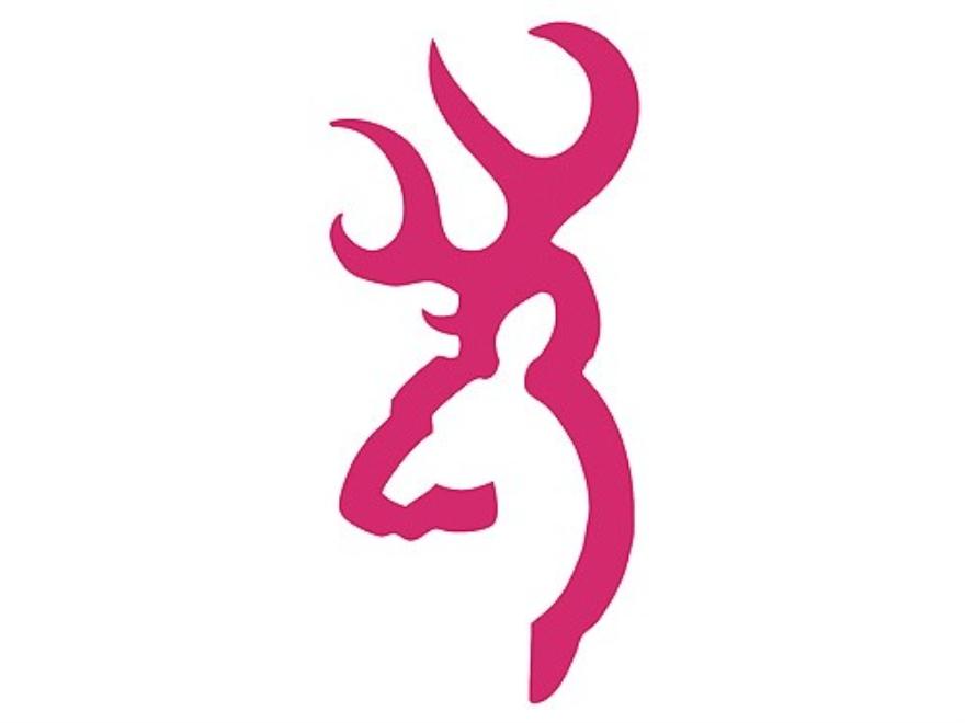 deer head logo pink - photo #11