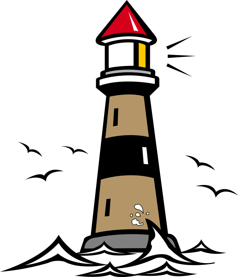Lighthouse 02 small clipart 300pixel size, free design