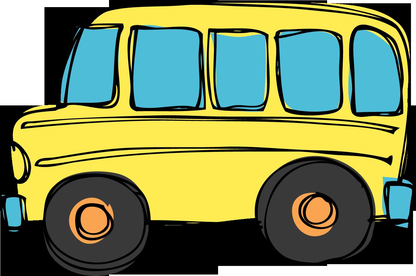 yellow bus clipart - photo #10