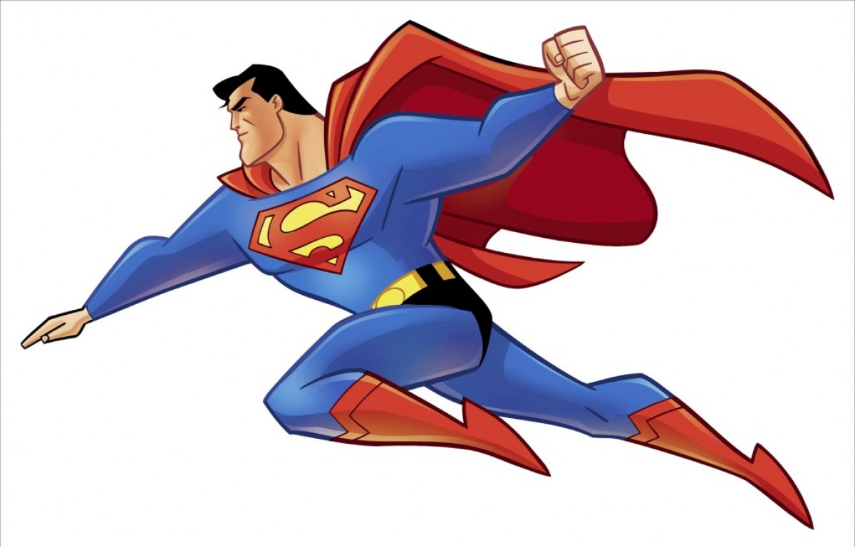 clipart superman flying - photo #11