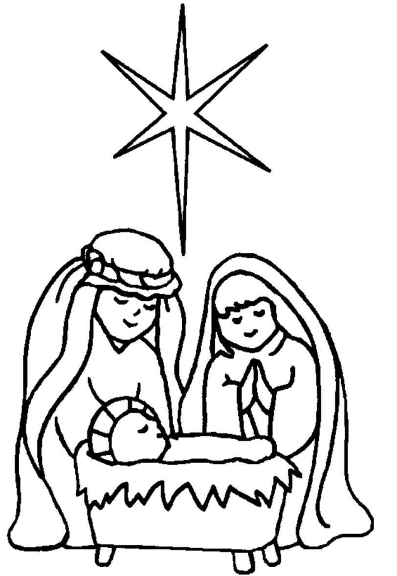 free clipart of baby jesus in a manger - photo #16