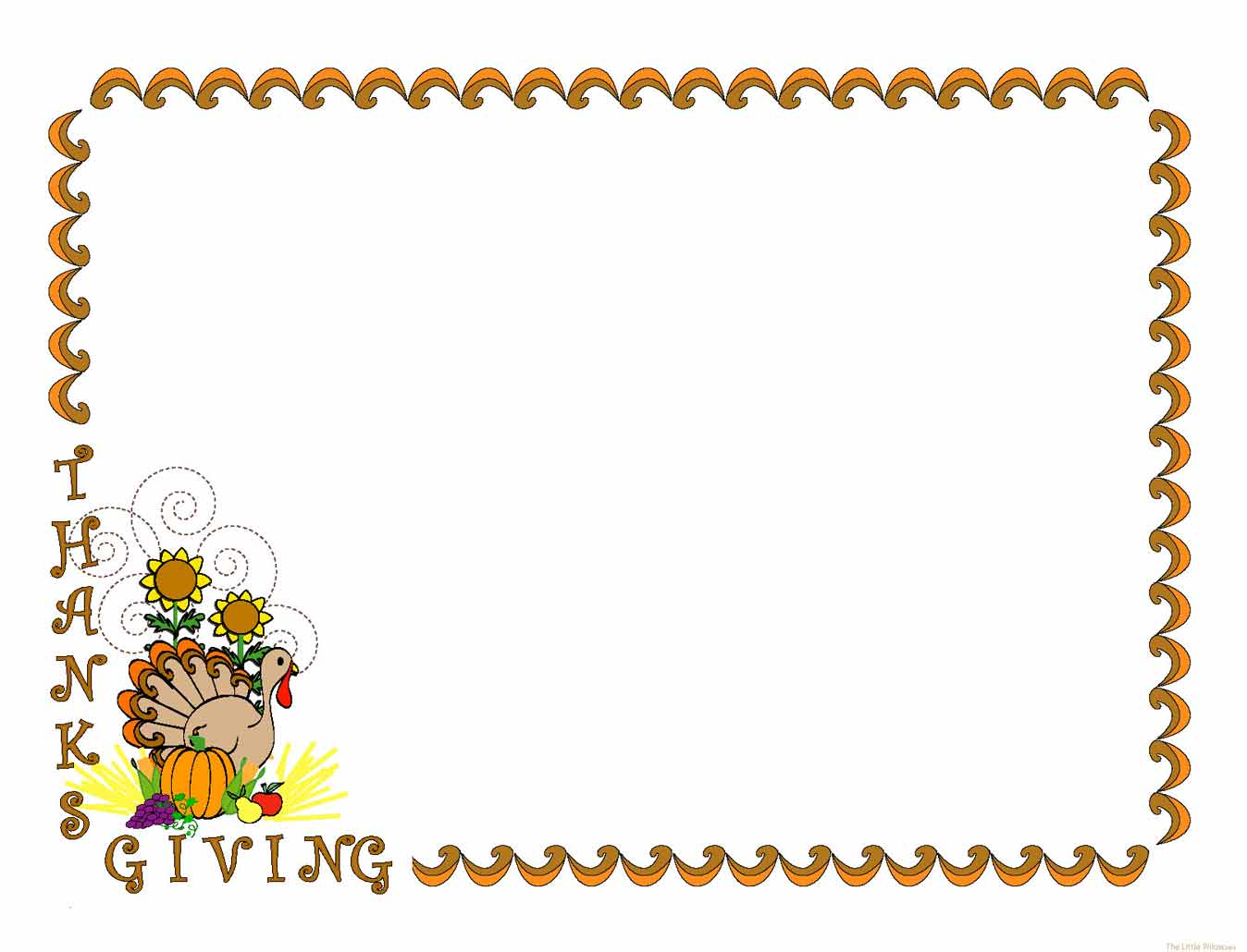 Thanksgiving Day Free Clip Art | School Clipart