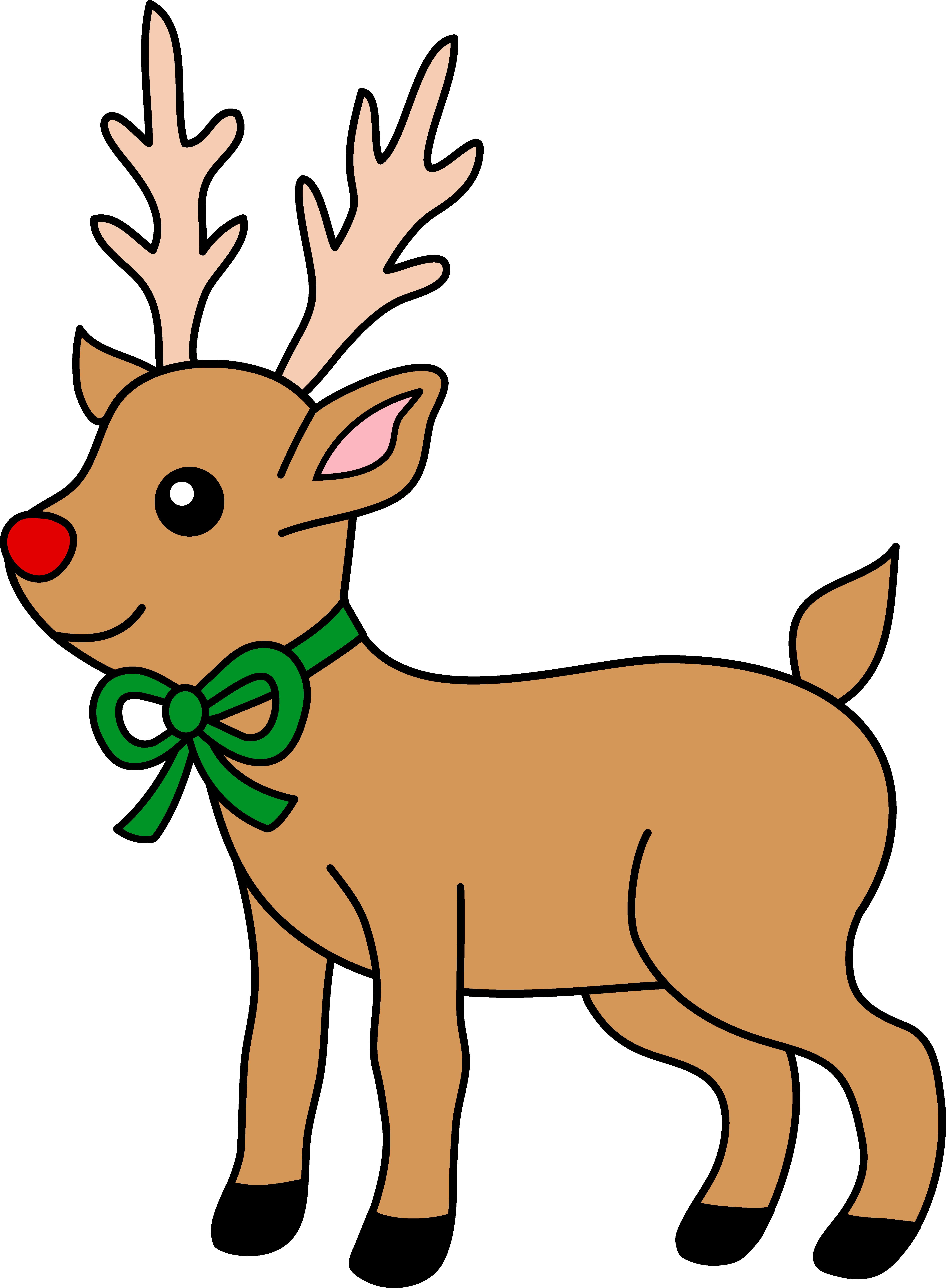 reindeer clipart rh worldartsme com reindeer clip art christmas free reindeer clip art free images