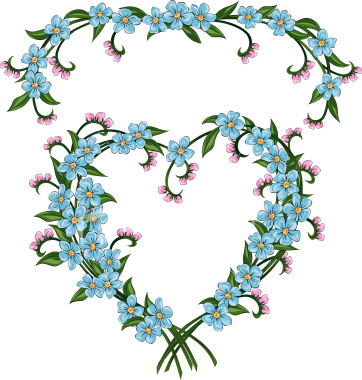 ist2_4880272-forget-me-not-valentine-flower-heart | Flickr - Photo ...