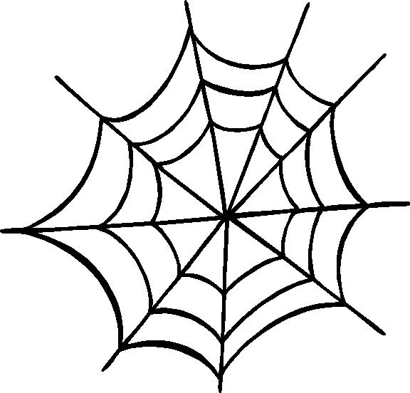 Spider Web Outline Cliparts Co Spider Web Color Template