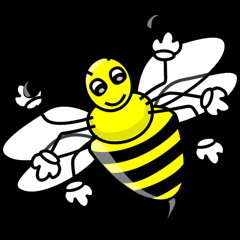 Free Clip Art Bee