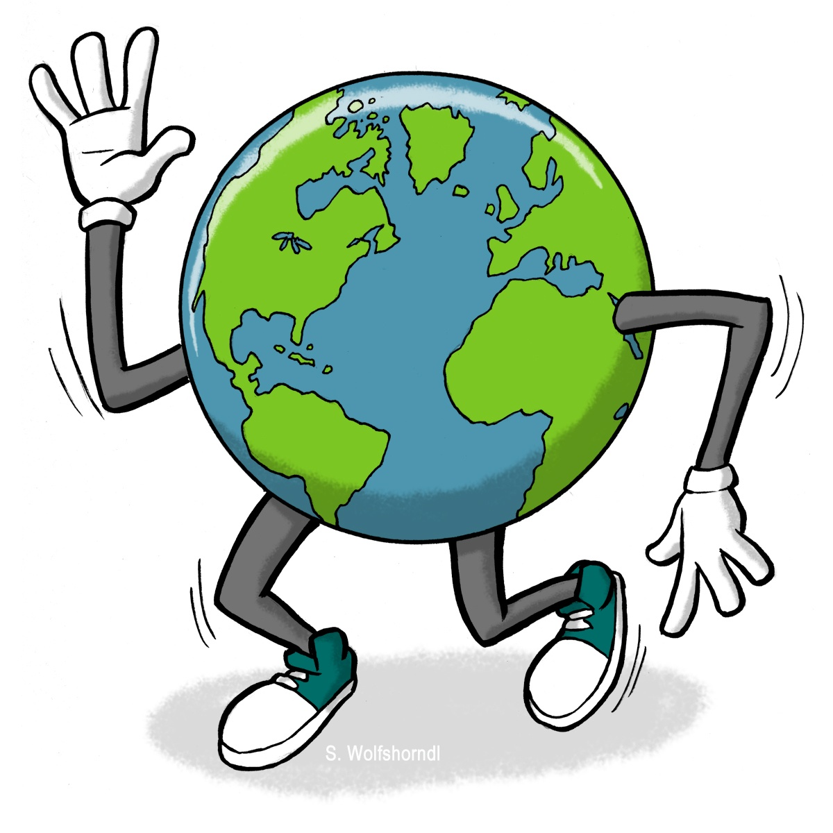 free cartoon earth clipart - photo #8