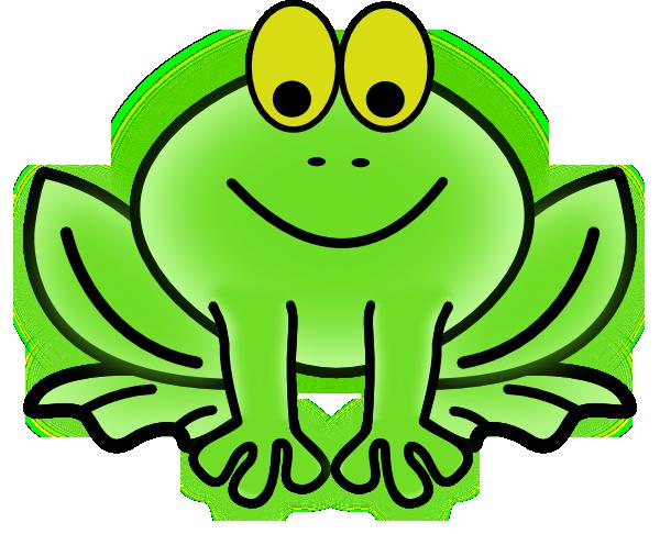 Bug-eyed Frog clip art - vector clip art online, royalty free ...