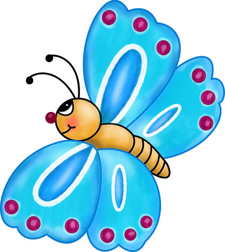 Butterflies Cartoon - Cliparts.co