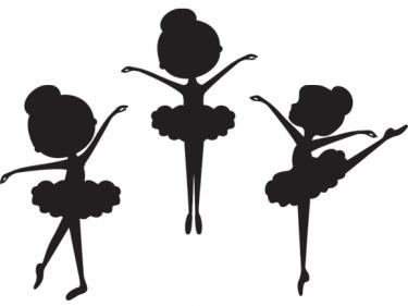 Silhouette Ballerina Clip Art | Meylah | birthdays - ClipArt Best ...