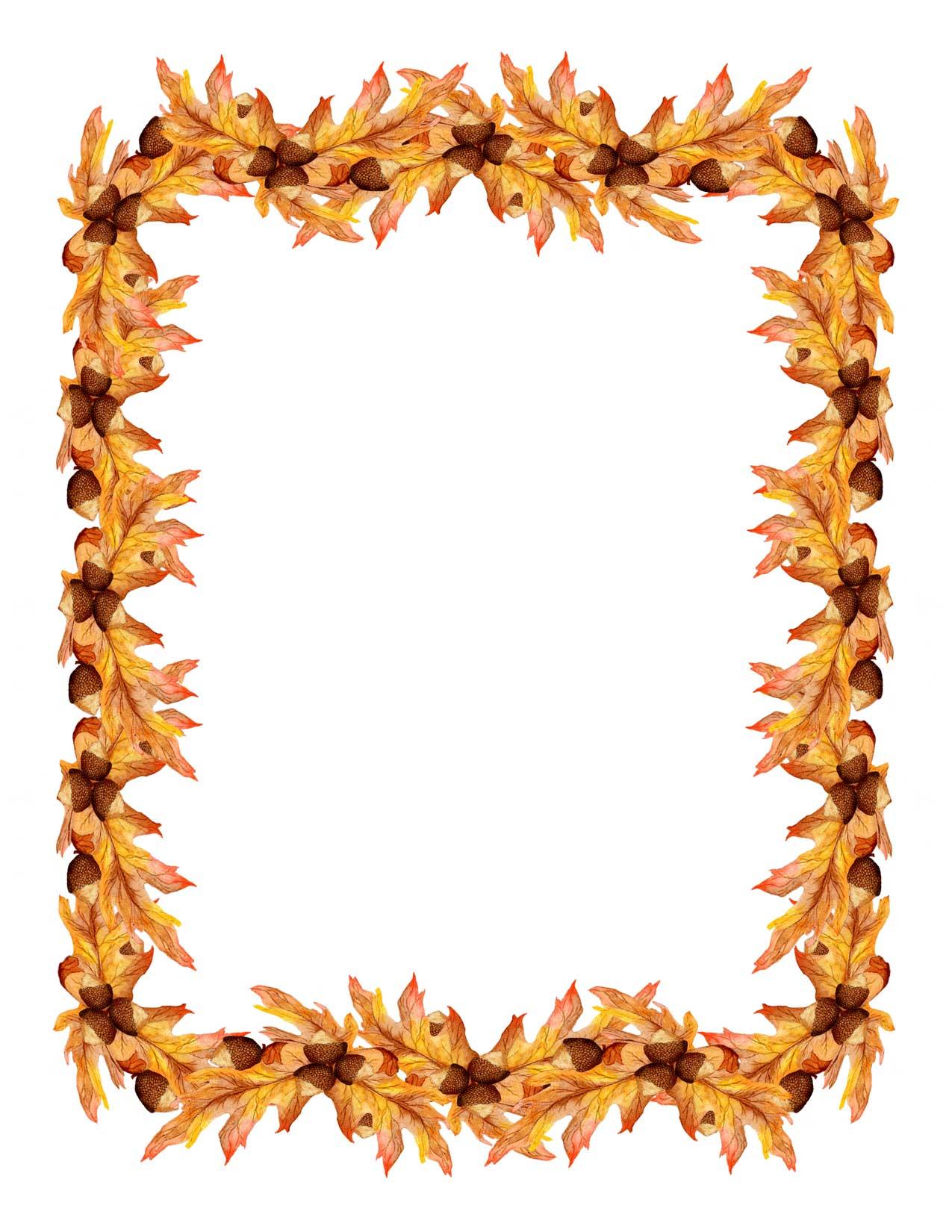 Fall Clip Art Borders Free - Cliparts.co