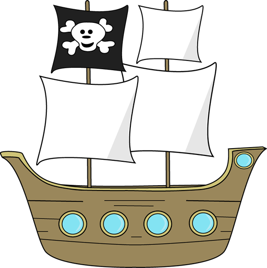 Pirate Ship Clip Art - Pirate Ship Image