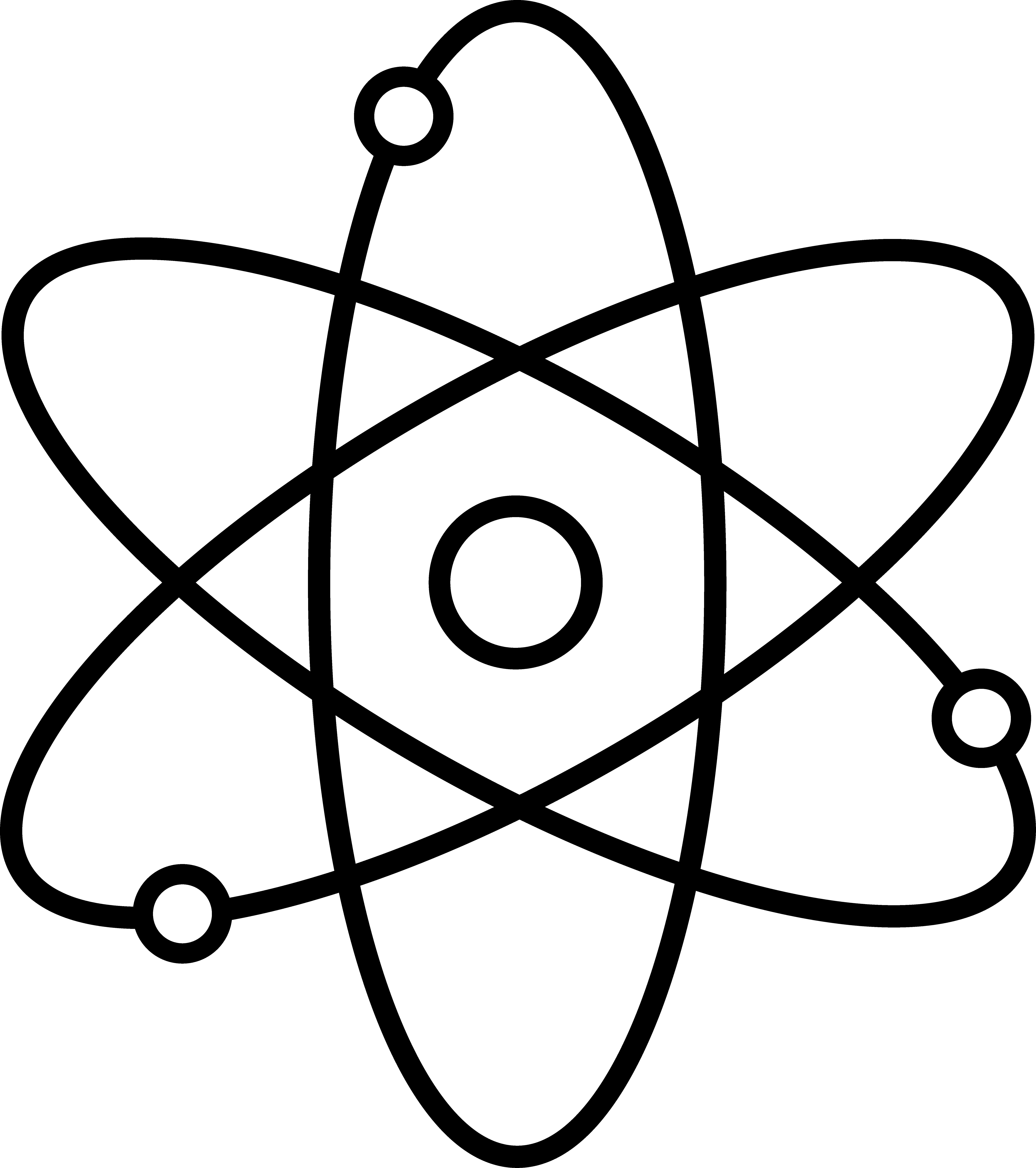 Single Line Symbol Art : Science symbols clip art cliparts