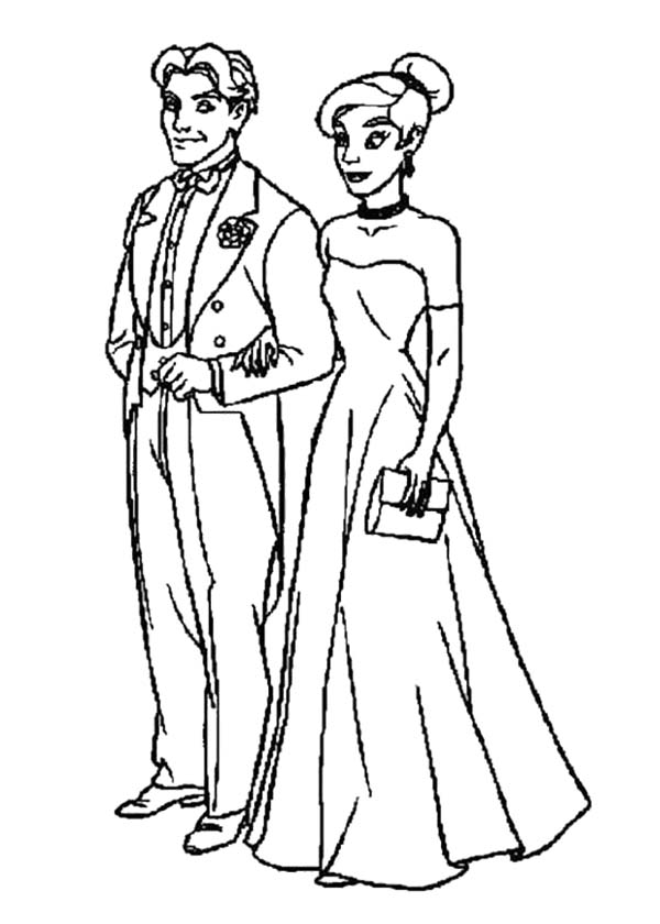 Married Pictures Cliparts Co And Groom Coloring Pages