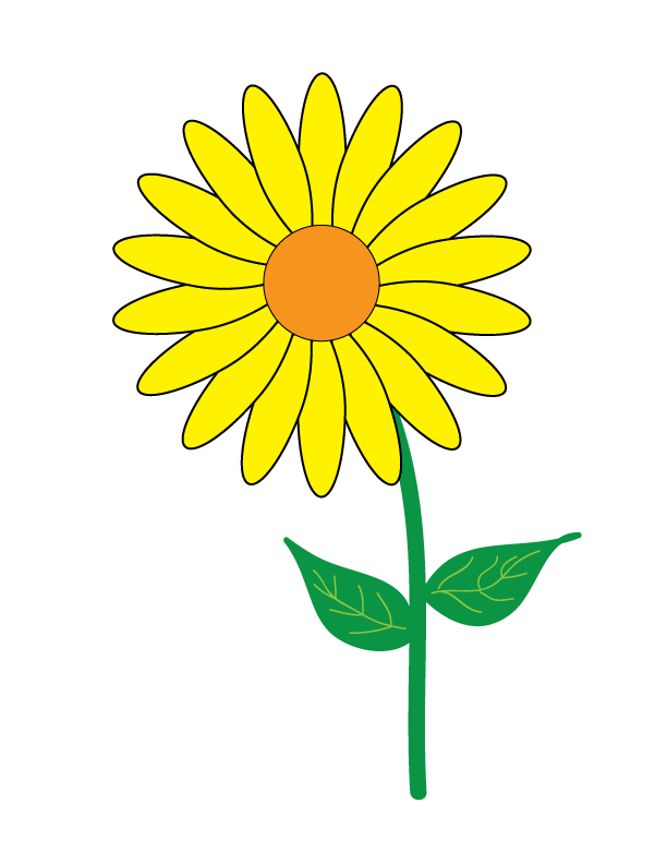 Single Flower Clip Art - Cliparts.co