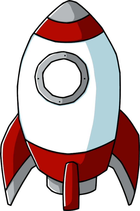 cartoon rocket ships clipartsco
