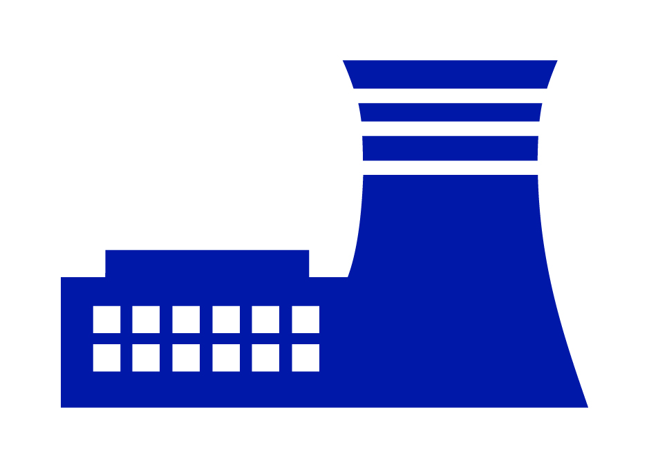Nuclear Power Plant Symbol