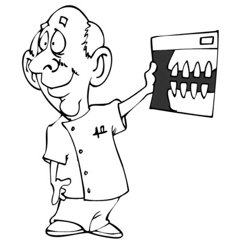 Printable Dental Coloring Photos - Doctor Day Coloring Pages ...