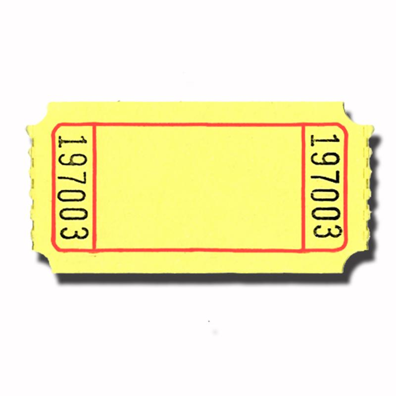 Raffle Ticket Clip Art