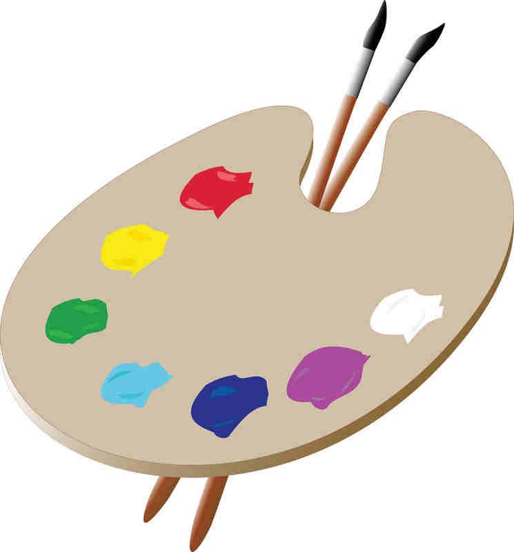 paint palette clip art - photo #14