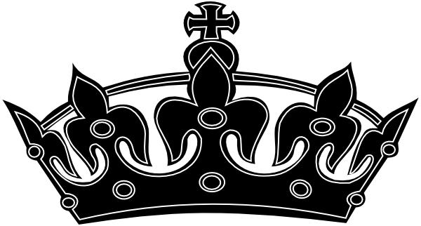 Queen Crown Black And White Clipart Black White Crown Clip Art