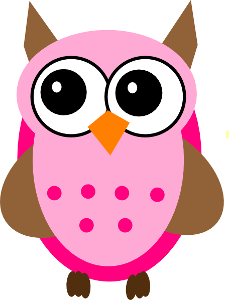 Pink Baby Owl Cartoon Images & Pictures - Becuo