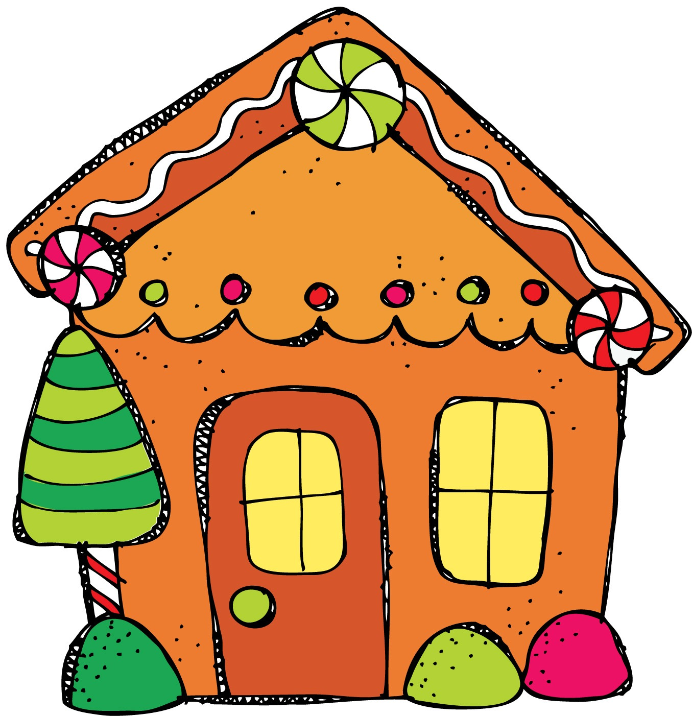 Gingerbread House Clip Art - ClipArt Best