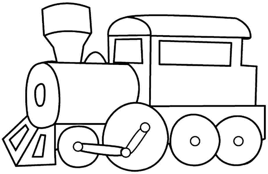 train printables coloring pages - photo#11