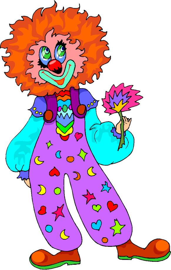 clip art clowns with balloons - photo #14