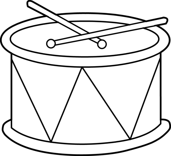 Clipart Drums Cliparts Co Clip Coloring Pages