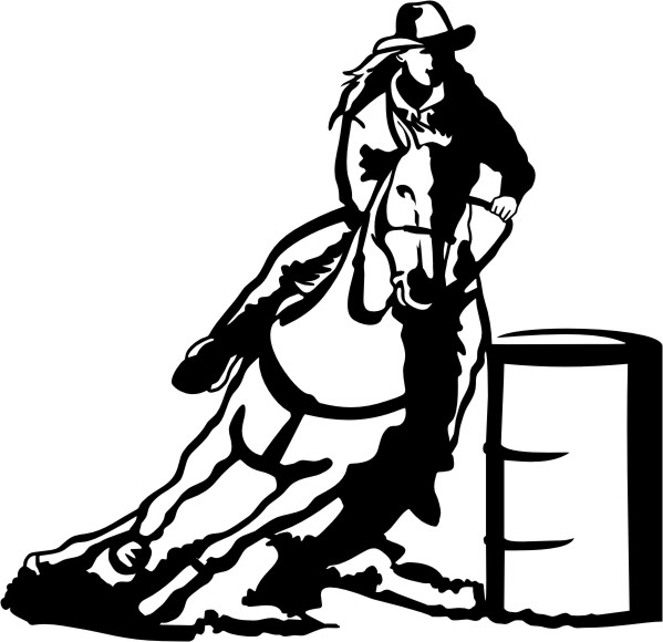 barrel racing clipart cliparts co Country Girl Silhouette Clip Art Country Girl Silhouette Clip Art